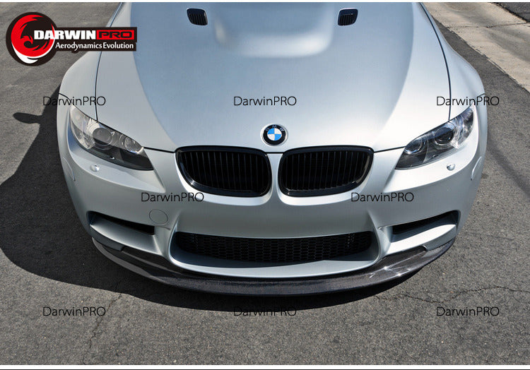 2008-2013 BMW M3 E90/E92/E93 Sedan/Coupe GTS Carbon Fiber Front lip 2 Piece