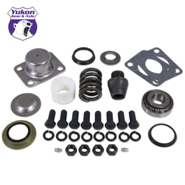 Yukon Gear Rplcmnt King-Pin Kit For Dana 60(1) Side (Pin/Bushing /Seals /Bearings /Spring /Cap) (YP KP-001)