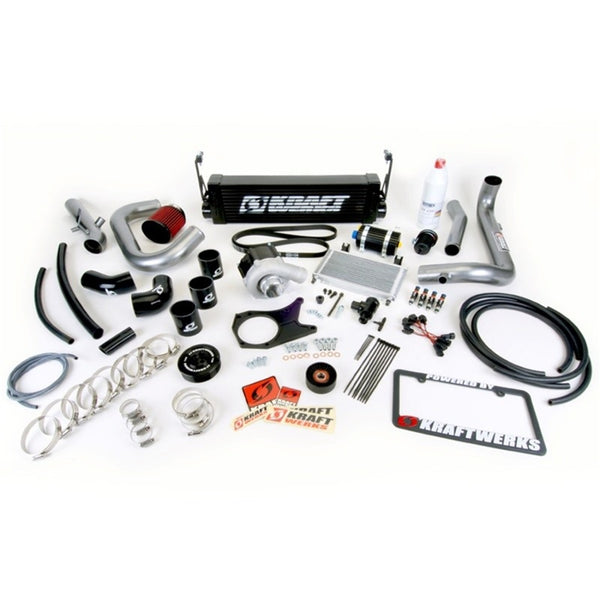 KraftWerks 06-11 Civic Black Series Supercharger Kit w/o Flashpro (R18) (150-05-1400B)