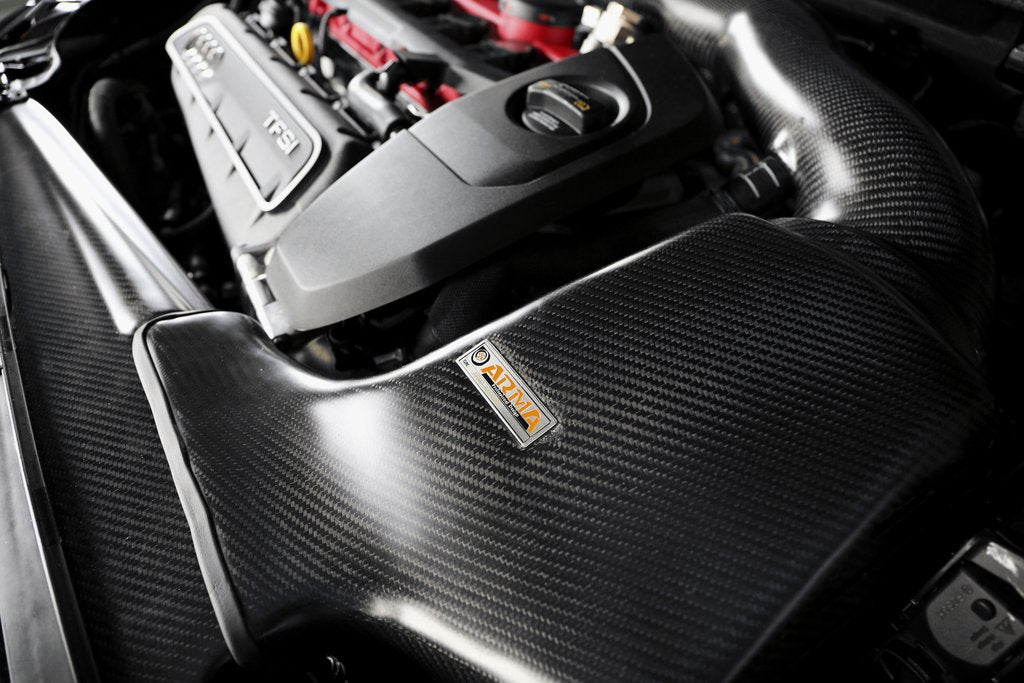 ARMA Speed - AUDI RS3 8V - HYPERFLOW CARBON FIBER COLD AIR INTAKE SYSTEM