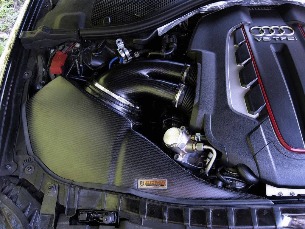 ARMA Speed - AUDI S6 C7 4.0T - HYPERFLOW CARBON FIBER COLD AIR INTAKE SYSTEM