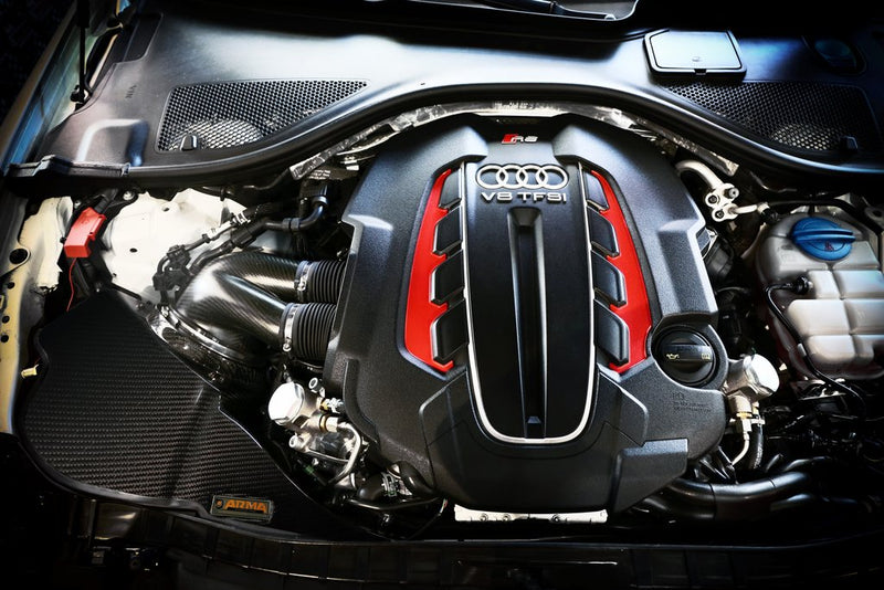 ARMA Speed - AUDI RS6 C7 4.0T - HYPERFLOW CARBON FIBER COLD AIR INTAKE SYSTEM
