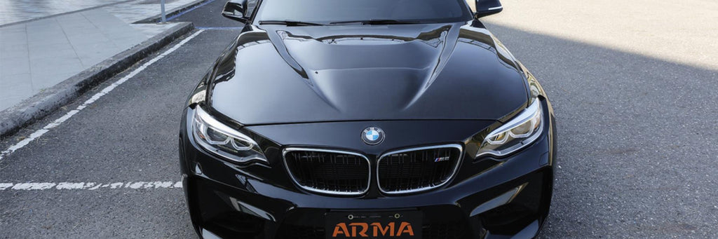 Arma Speed - BMW 2 Series F87 Carbon Fiber Vented Hood