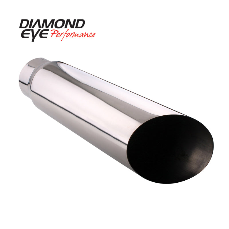 Diamond Eye TIP 5inX6inX18in BOLT-ON ANGLE-CUT 15-DEGREE ANGLE CUT (5618BAC)
