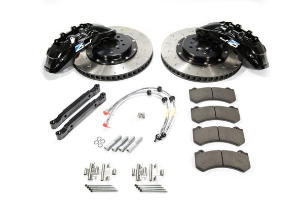 Alcon 2009+ Nissan GT-R R35 412x36mm Rotor Sky Blue 6 Piston Caliper RC6 Front Axle Kit (BKF7059ZG05)