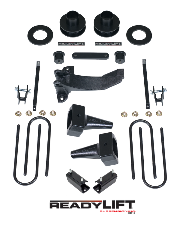 ReadyLift Suspension 11-15 Ford F250/350 SST Lift Kit 2.5in Front 1.0-3.0in Rear Tow Package Model (69-2511TP)