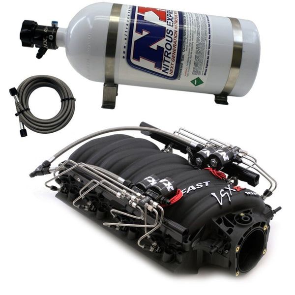 Nitrous Express Fast 102 Intake Manifold for LS7 Heads w/NX Shark Direct Port (INTAKE021)