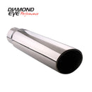 Diamond Eye TIP 4in-5inX18in ROLLED ANGLE 15-DEGREE ANGLE CUT RA4517 (4518RA)