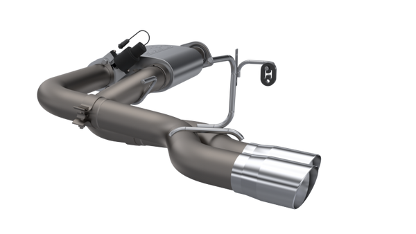 QTP 15-18 Ford F-150 CC/EC Standard Bed 304SS Screamer Cat-Back Exhaust w/3in Tips (440015)