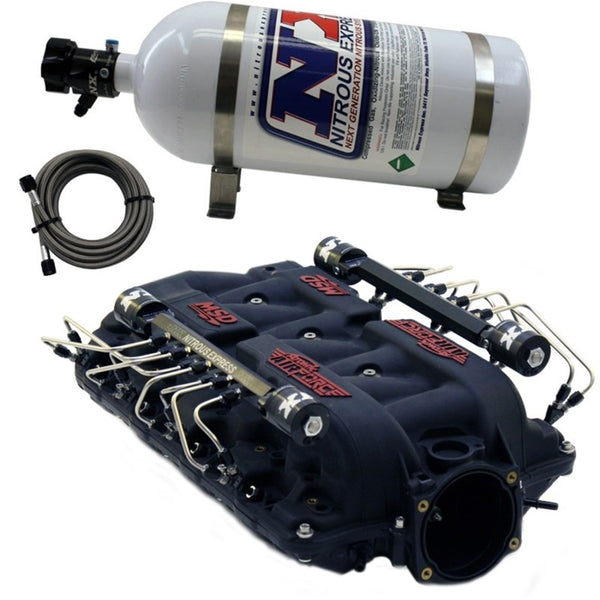 Nitrous Express MSD Airforce Intake Manifold for LS7 Heads w/Shark Direct Port (INTAKE025)