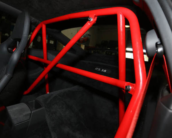 AP Porsche 996/997 Carrera GT3 Turbo Raw Finished Race Roll Bar w/ Harness and Diagonal Bar (AP-911-500)