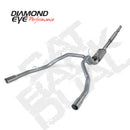 Diamond Eye KIT 3in CB DUAL SS: DODGE 1500 2014 DIESEL (K3228S)