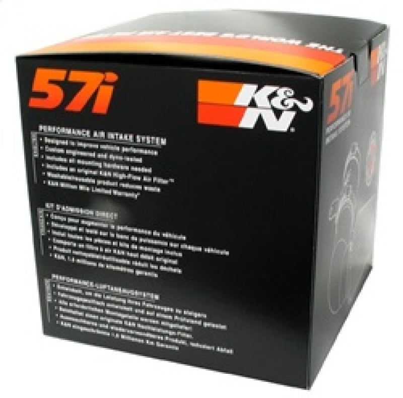 K&N 04-10 BMW 118I/120I / 07-08 320SI / 05-10 318I/320I L4-2.0L Performance Intake Kit (57-0648-1)