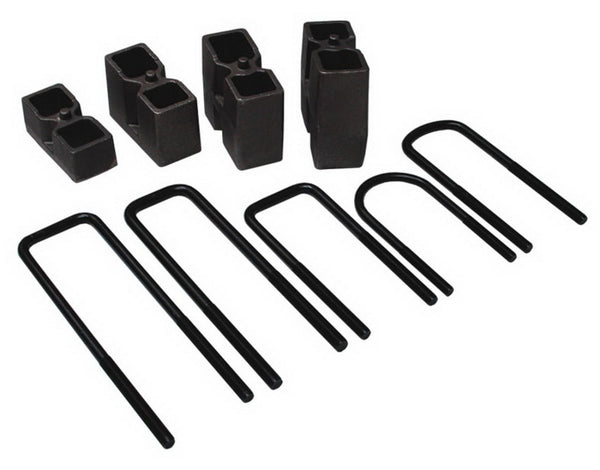 Skyjacker Suspension Block and U-Bolt Kit 1997-1997 Ford F-250 HD 4WD Without Towing Package (BUK5593)