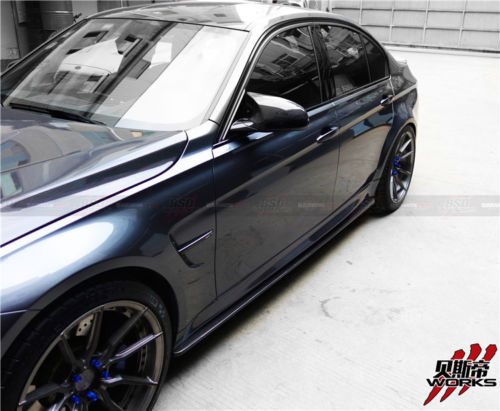 Darwin Pro - 2014-2018 BMW M3 F80 & 3 Series F30 F35 VA Style Carbon Fiber Side Skirts