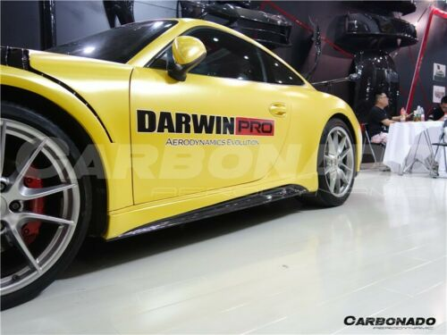Darwin Pro - 2013-2016 Carrera 911 991.1 VS Style Carbon Fiber Side Skirts For Porsche