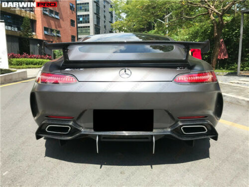 Darwin PRO Mercedes Benz AMG GT GTS IMP Style Rear Bumper with Carbon Fiber Diffuser