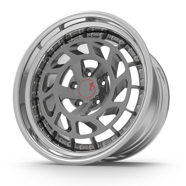 SEVENK - CIRCA (2 PIECE FORGED) STEP OR REVERSE LIP (PRICE PER SET) 21x10.5 - 21x12