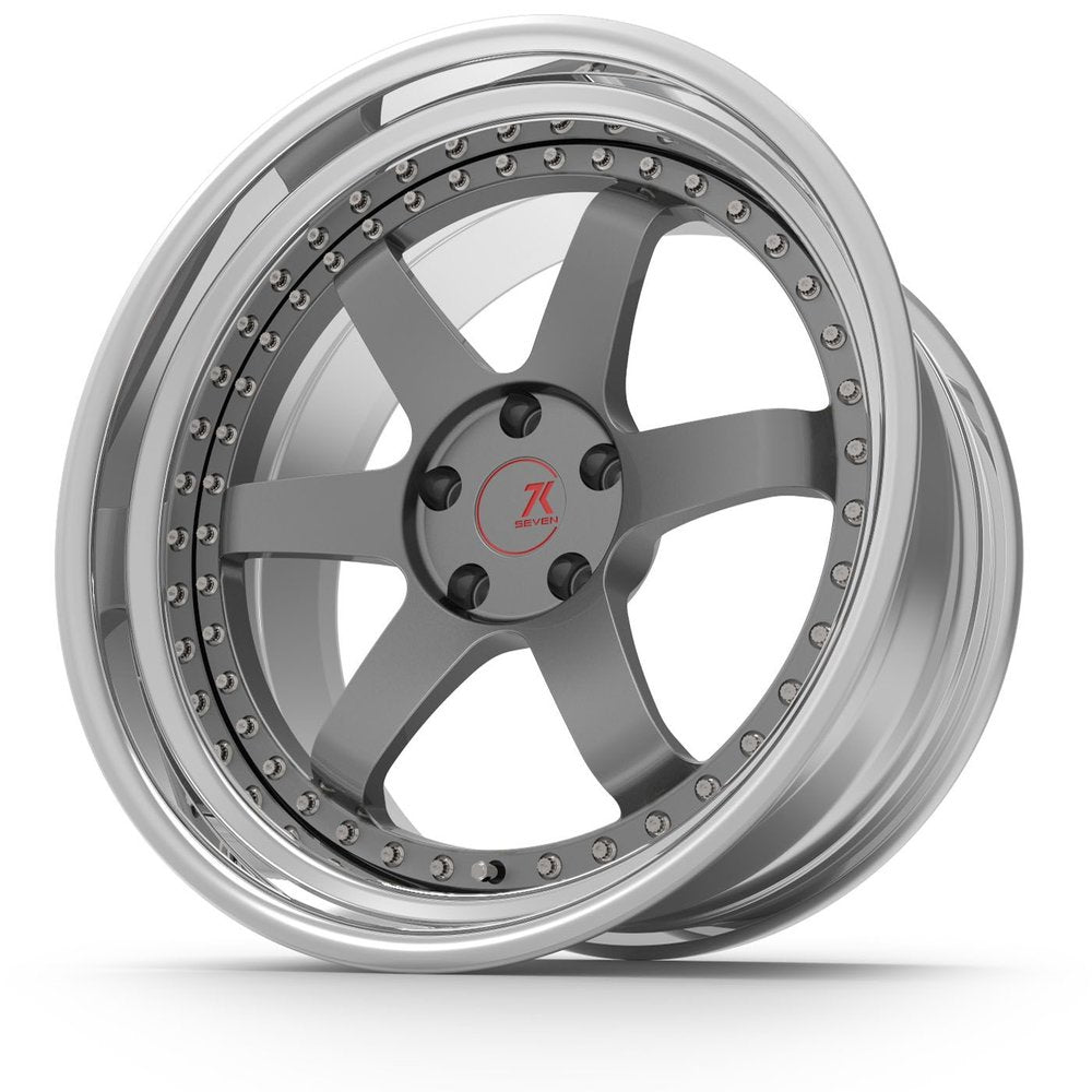 SEVENK - LOUIE (2 PIECE FORGED) STEP OR REVERSE LIP (PRICE PER SET)  - 21x8 - 21x10