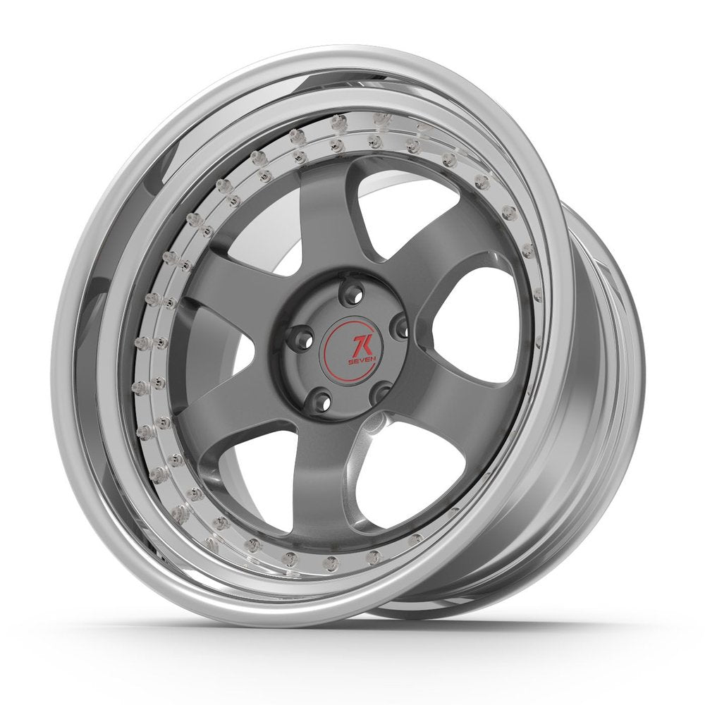 SEVENK - MAVEN (2 PIECE FORGED) STEP OR REVERSE LIP (PRICE PER SET)  - 21x8 - 21x10