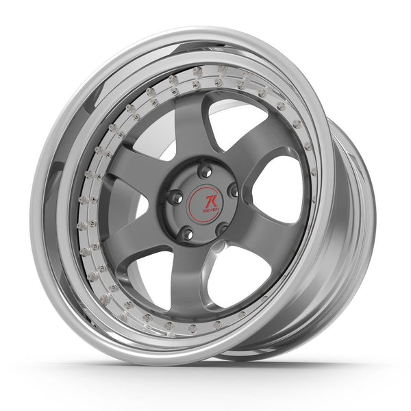 SEVENK - MAVEN (2 PIECE FORGED) STEP OR REVERSE LIP (PRICE PER SET) 21x10.5 - 21x12