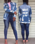 Wake Pray Slay Jacket