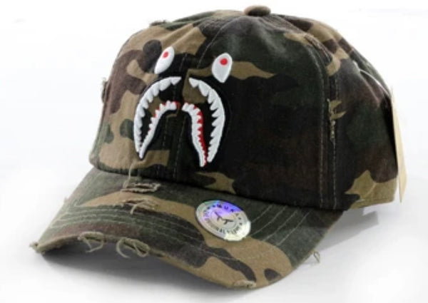Daddy Shark Camo Hat