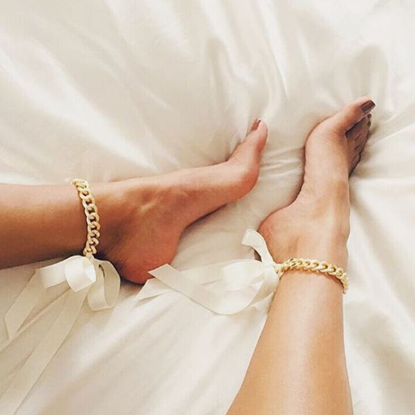 Satin Chain Anklet