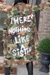 Camo Sistah Trench Coat