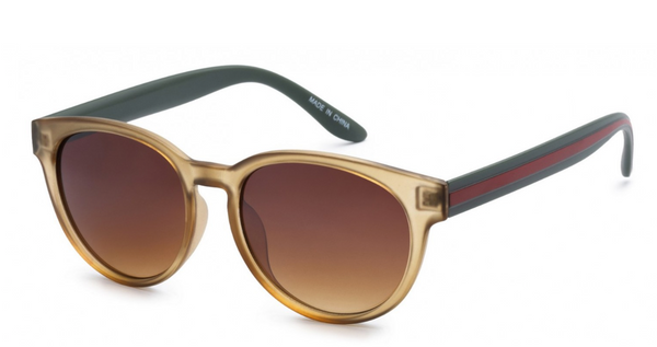 Kouture Striped Sunglasses