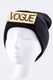 Vogue Knit Hat