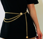 Golden Sunrise Chain Belt
