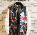 Graffiti Men's Puff Vest