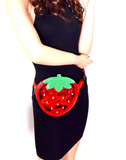 Sweet Strawberry Sling Bag