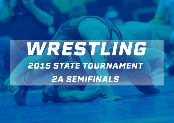 2015 Wrestling 2A Semifinals - Digital Download