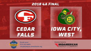 2018 Basketball Class 4A Championship (Cedar Falls vs. Iowa City, West) - Digital Download