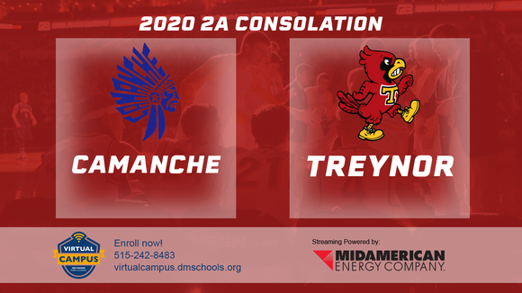 2020 Basketball Class 2A Consolation (Camanche vs. Treynor) Digital Download