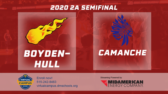 2020 Basketball Class 2A Semifinal (Boyden-Hull vs. Camanche) Digital Download