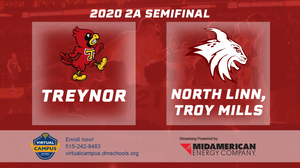 2020 Basketball Class 2A Semifinal (Treynor vs. North Linn, Troy Mills) Digital Download