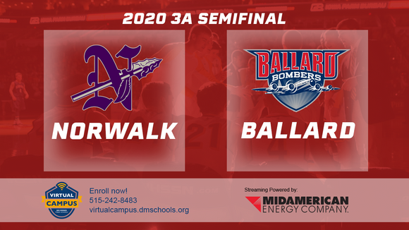 2020 Basketball Class 3A Semifinal (Norwalk vs. Ballard) Digital Download