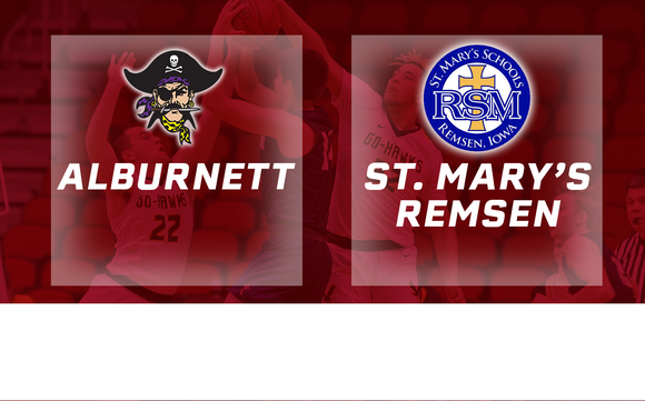 2019 Basketball Class 1A Semifinal (Alburnett vs. St. Mary's, Remsen) Digital Download