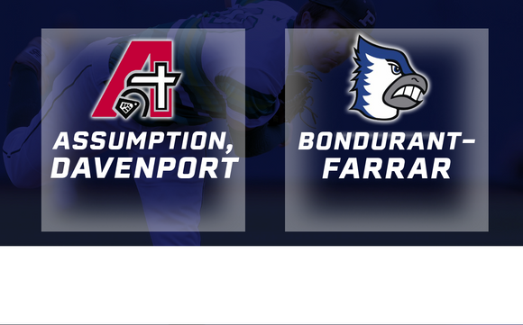 2018 Baseball Class 3A Quarterfinal (Assumption, Davenport vs. Bondurant-Farrar) - Digital Download