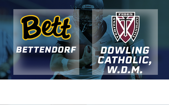 2018 Football Class 4A Semifinal (Bettendorf vs. Dowling Catholic, W.D.M.) Digital Download