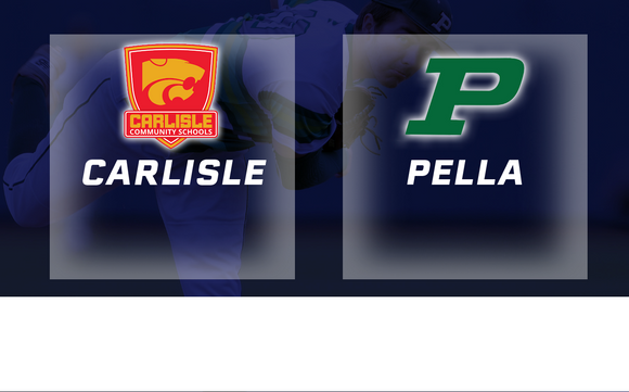 2016 Baseball Class 3A Semifinal (Carlisle vs Pella) -Digital Download