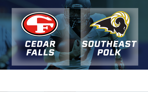 2018 Football Class 4A Semifinal (Cedar Falls vs. Southeast Polk) Digital Download
