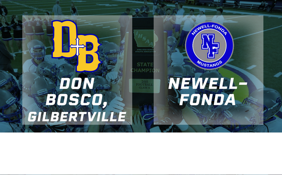 2015 Football 8-Player Semifinal (Don Bosco, Gilbertville vs. Newell-Fonda) - Digital Download
