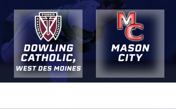 2017 Baseball Class 4A Quarterfinal (Dowling Catholic, West Des Moines vs Mason City) - Digital Download