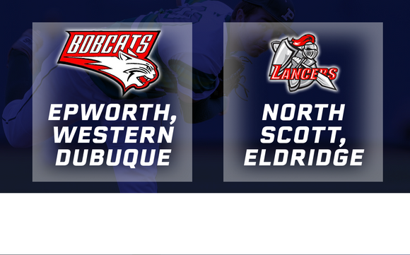 2018 Baseball Class 4A Quarterfinal (Epworth, Western Dubuque vs. North Scott, Eldridge) - Digital Download