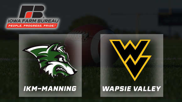 2006 Football A Final - I-K-M, Manning vs. Wapsie Valley