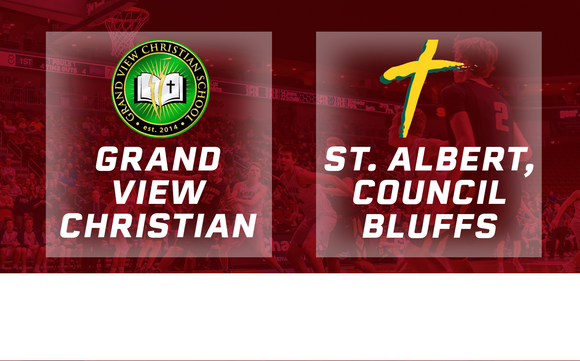 2018 Basketball Class 1A Quarterfinal (Grand View Christian vs. St. Albert, Council Bluffs) - Digital Download